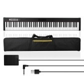 88 touches musique numérique clavier électronique enfants piano électrique multifonctionnel Rechargeable débutants Piano Instrument de musique