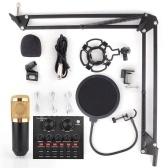 vxmba Podcast Live Broadcast Equipment Профессиональный конденсаторный микрофон