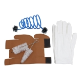 3 in 1 Trumpet Accessory Gloves Cleaning Kit Protective Cover Case Synthetic Leather