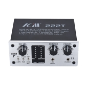 ICM 222T 2-Channel USB Audio System Interface External Sound Card +48V phantom power DC 5V Power Supply for Computer Smartphone With USB Cable