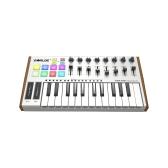 WORLDE TUNA MINIウルトラポータブル25キーUSB MIDIキーボードコントローラ