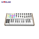 WORLDE TUNA MINI Ultra-Portable 25-Key USB MIDI Keyboard Controller