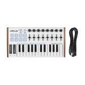WORLDE TUNA MINI Ultraportabler 25-Tasten USB MIDI Keyboard Controller