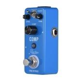 Rowin COMP Compressor Compress Efekt gitarowy Pedał Shell ze stopu aluminium True Bypass