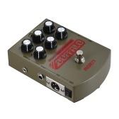 MOEN MO-BA BUFFALO E-gitarre Lautsprecher Simulator Effektpedal Equalizer Mit DI Kopfhörerausgang True Bypass
