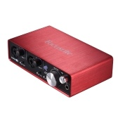 Focusrite Scarlett 2i2 2. Generation 2-in / 2-out USB Audio Interface Soundkarte 24bit / 192kHz mit USB Kabel