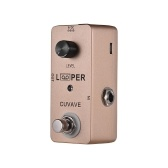 Mini Guitar Loop Looper Pedal Max. 5 Minutes Recording Time Unlimited Overdubs Full Metal Shell