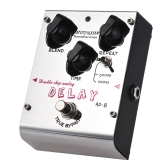 BIYANG AD-8 Tonefacier Series Double Chip Analogowy gitarowy efekt opóźnienia True Bypass Full Metal Shell