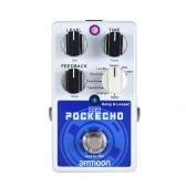 ammoon POCKECHO Delay & Looper Guitar Effect Pedal