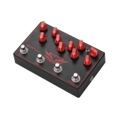 MOSKY RED FOX 4-in-1 E-Gitarre Effektpedal