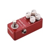 MOSKY CRUNCH RED Distortion Gitarreneffektpedal