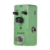 CUVAVE DELAY Analog Classic Delay Echo Pedal Efeito Guitarra liga de zinco Shell True Bypass