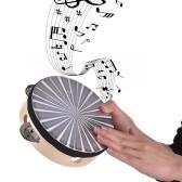 木製の放射タンバリンハンドベルハンドドラム