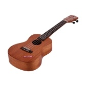 JACQUES UK-C10 23 Inch Concert Ukulele Mahogany Wood Hawaii Guitar