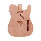 TLエレキギターボディソリッドウッドギターDIYアクセサリーナチュラルウッドカラー