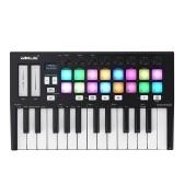 WORLDE Orca mini25 Портативный 25-клавишный USB-контроллер MIDI-клавиатуры