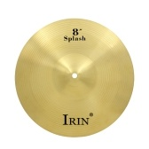 "Piattino Hi-Hat da 8 ""in ottone Crash Ride per batteria"