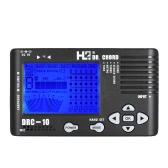 4 in 1 elettronico digitale della chitarra accordatore cromatico tono del metronomo del generatore di Chord Finder incorporato Display LCD Mic sintonia
