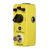 MOOER FLEX Boost Mini Boost Pedale effetto pedale Gamma larga di guadagno True Bypass Full Metal Shell
