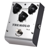 BIYANG TR-8 Tonefacier Series Tremolo Guitar Effect a pedale True Bypass Full Metal Shell