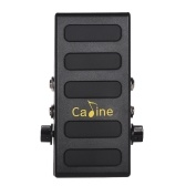 Caline CP-31P Guitar Volume Pedal Dual Channels con Boost Function True Bypass Full Metal Shell
