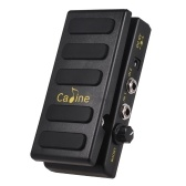 Caline CP-31P Guitar Volume Pedal Dual Channels with Boost Function True Bypass Full Metal Shell