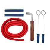 6pcs kit de herramientas de palanca de martillo de afinación de piano