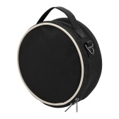 Portable Thumb Piano Soft Case Waterproof Fabric Circle Shape Kalimba Storage Bag