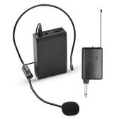 Sistema microfono wireless VHF portatile