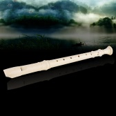Suzuki SRG-200 Soprano Recorder German-style 8 Holes Key of G with Bag Musical Wind Instrument Natural