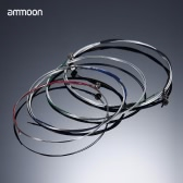 ammoon Full Set High Quality Violin Strings Size 4/4 & 3/4 Violin Strings Steel Strings G D A and E Strings