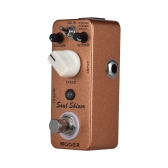 MOOER Soul Shiver 3 Modes Multi Modulation Guitar Effect Pedal True Bypass Full Metal Shell
