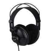 SAMSON SR950 Professional Studio Reference Słuchawki Dynamiczny zestaw słuchawkowy Zamknięty projekt ucha do nagrywania Monitorowanie muzyki Docenianie gry Grając DJ