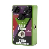 Caline CP-52 Electric Guitar Compressor Compress Effect Pedal Aluminum Alloy Housing True Bypass