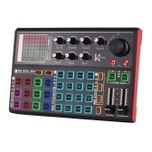 Muslady SK300 Live Sound Card Внешний голосовой чейнджер Аудиомикшер