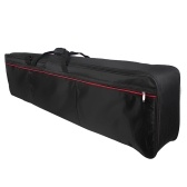 ammoon 88-Key Keyboard Carry Bag Electric Piano Padded Case Gig Bag Zippered Closure with Top Handle (Bag Webbing Color Random Delivery )