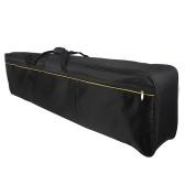 Ammoon 88-клавишная сумка для переноски клавиатуры Чехол с мягкой подкладкой для электрического пианино Сумка на молнию с верхней ручкой (сумка из тесьмы Цвет случайная доставка)