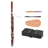 ammoon Professional C Key Bassoon Woodwind Instrument