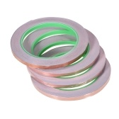 Copper Foil Tape with Dual Conductive Adhesive for EMI Shielding Electronic Guitar Slug Repellent Paper Circuits Electrical Repairs  4 Tapes/ Pack