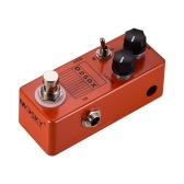 MOSKY D250X Mini Electric Guitar Overdrive Preamp Effect Pedal 2 Models Full Metal Shell True Bypass