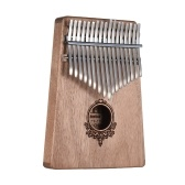 17キーKalimba Portable Thumb Piano