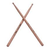 7Aの木製ドラムスティックの1ペアドラムスティックヒッコリーウッドドラムセットのアクセサリー