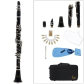 Clarinetto ABS 17 tasti bB Clarinetto binoculare soprano piatto