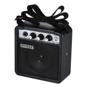 ammoon Mini Amplificatore ad alta sensibilità Amplificatore per chitarra acustica / elettrica Ukulele