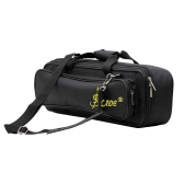 LADE Padded Flute Bag Backpack Soft Case Lightweight with Carry Handle Shoulder Strap