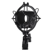 Univerdal Microfono a condensatore Mic Shock Mount Holder Staffa in plastica