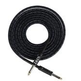 E-Gitarre Basskabel Musikinstrument Audiokabel 1/4 Zoll auf 1/4 Zoll TS Gerade Stecker, 3 Meter / 10 Fuß