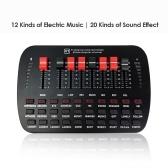 V1 Live Sound Card для ПК Телефон Компьютер