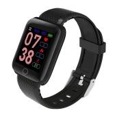 1.44 Inches TFT Screen Smart Bracelet Heart Rate Blood Pressure Multi-Sport Mode BT Watch IP67 Waterproof Two-way Lookup Wristband for Men Women