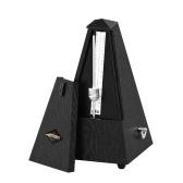 Ammoon Universal Pyramid Mechanisches Metronom ABS Material für Gitarre Violine Klavier Bass Musikinstrument Übungswerkzeug für Anfänger